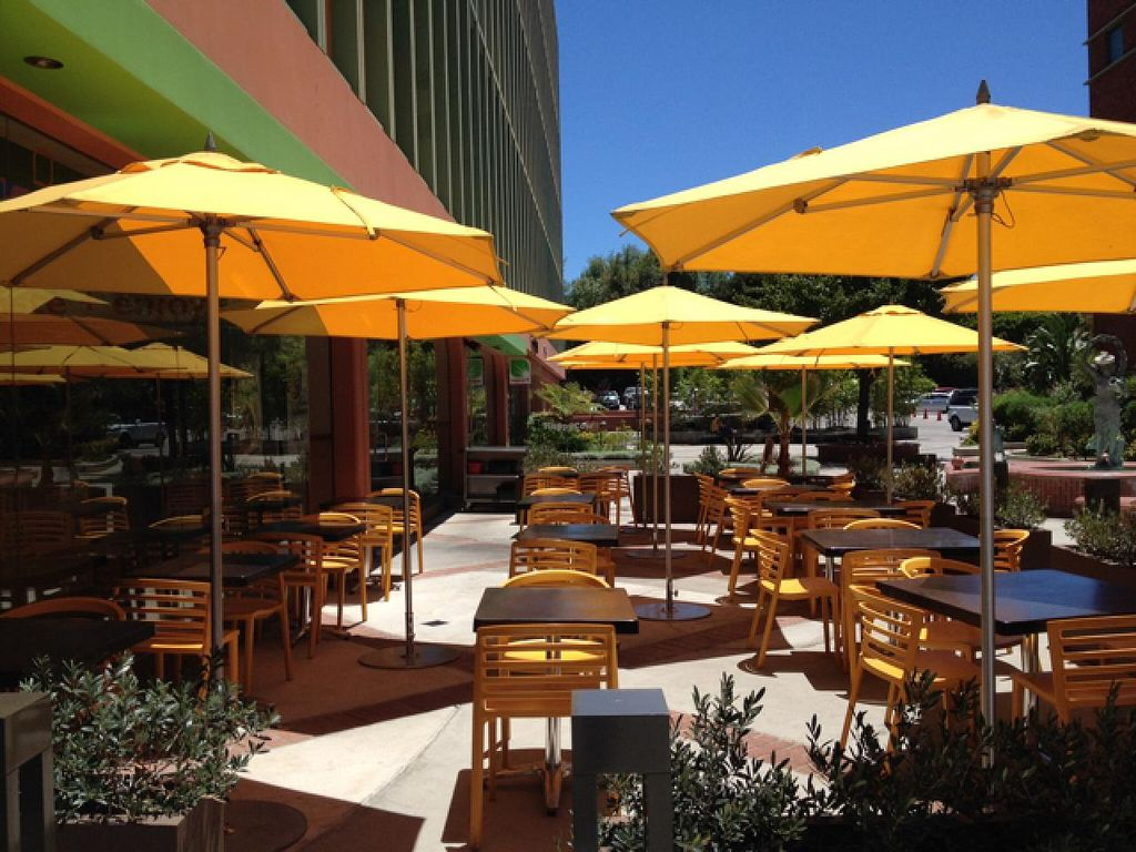 """Photo of Veggie Grill  by <a href=""""/members/profile/Tigra220"""">Tigra220</a> <br/>patio <br/> July 20, 2015  - <a href='/contact/abuse/image/38058/110225'>Report</a>"""