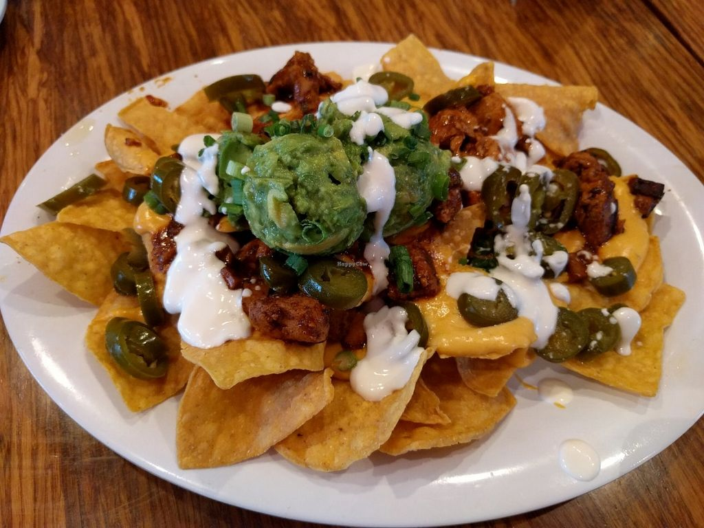 """Photo of Veggie Grill  by <a href=""""/members/profile/Sonja%20and%20Dirk"""">Sonja and Dirk</a> <br/>nachos <br/> June 20, 2016  - <a href='/contact/abuse/image/38058/154931'>Report</a>"""