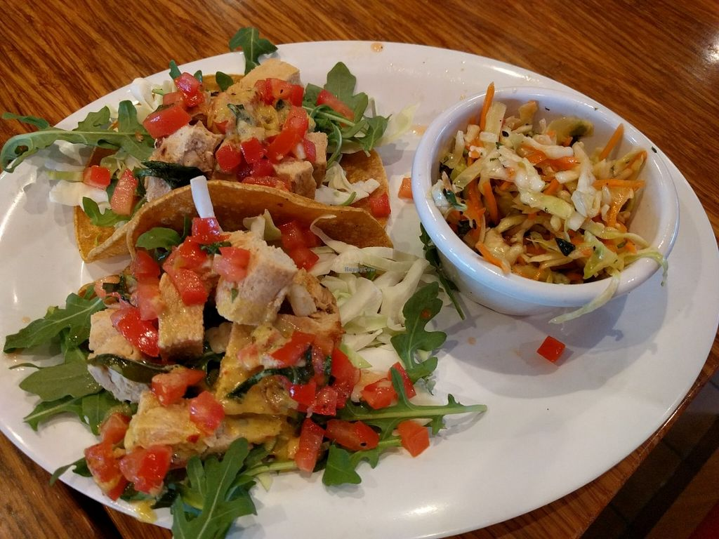 """Photo of Veggie Grill  by <a href=""""/members/profile/Sonja%20and%20Dirk"""">Sonja and Dirk</a> <br/>Thai tacos <br/> June 20, 2016  - <a href='/contact/abuse/image/38058/154933'>Report</a>"""