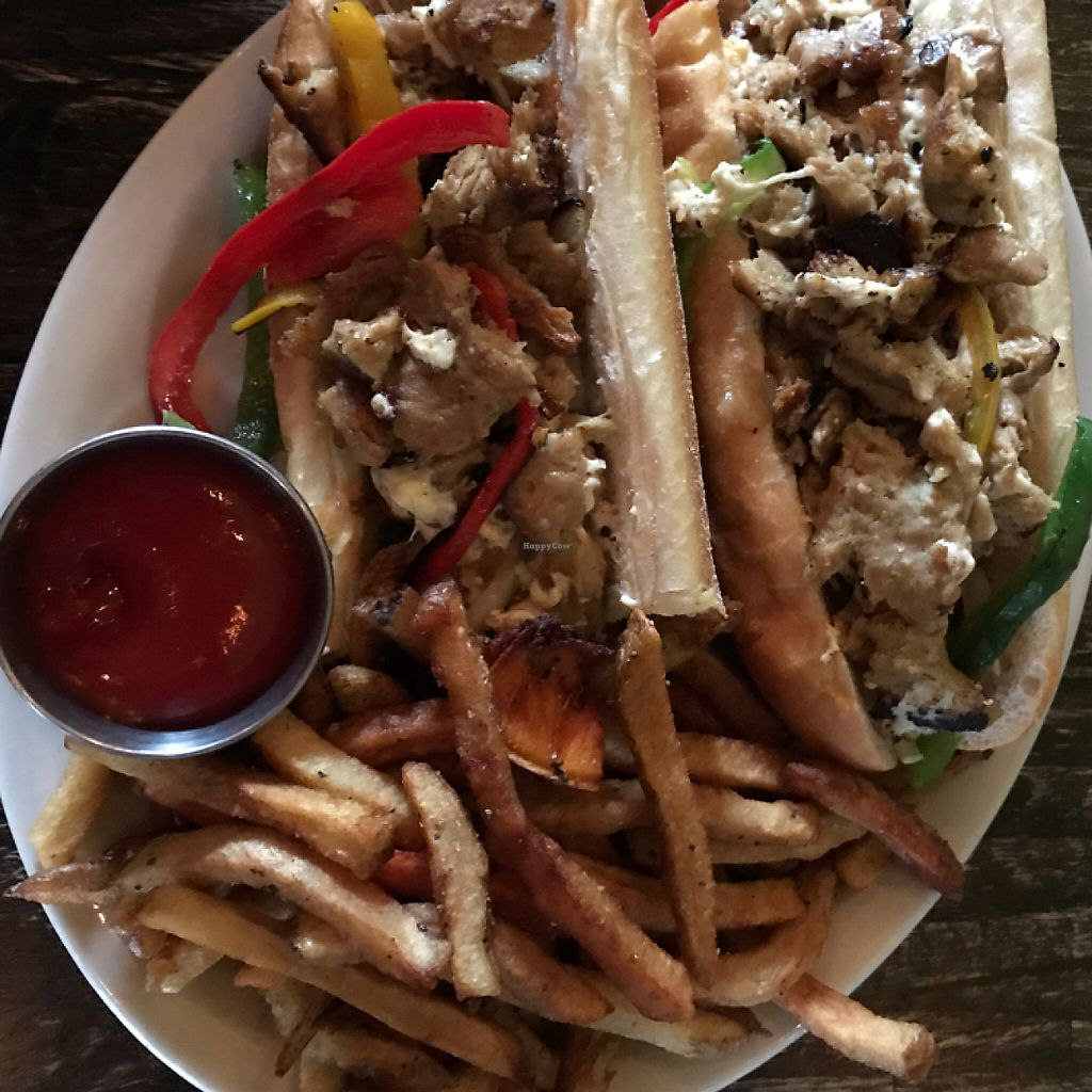 "Photo of Cedar Point Bar and Kitchen  by <a href=""/members/profile/The%20London%20Vegan"">The London Vegan</a> <br/>vegan Philly cheesesteak <br/> May 1, 2017  - <a href='/contact/abuse/image/38065/254421'>Report</a>"