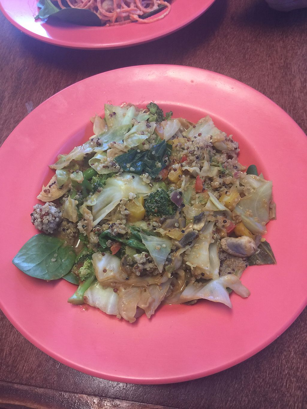 "Photo of Coco Greens  by <a href=""/members/profile/Tdjshields"">Tdjshields</a> <br/>Quiana Stir- Fry <br/> January 19, 2018  - <a href='/contact/abuse/image/38087/348190'>Report</a>"