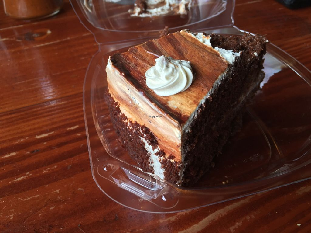 "Photo of The Grain Cafe  by <a href=""/members/profile/Summer%20vegan"">Summer vegan</a> <br/>awesome cake <br/> May 7, 2016  - <a href='/contact/abuse/image/38090/147887'>Report</a>"
