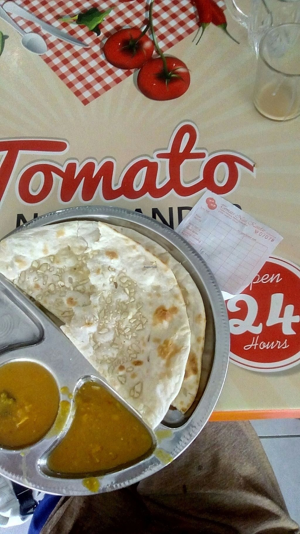 """Photo of Tomato Nasi Kandar  by <a href=""""/members/profile/u_are_brilliant"""">u_are_brilliant</a> <br/>Garlic Naan bread <br/> August 2, 2017  - <a href='/contact/abuse/image/38106/287918'>Report</a>"""