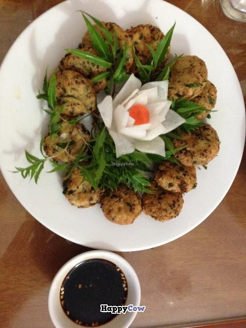 """Photo of Tam Thanh - Duong Lang  by <a href=""""/members/profile/jb73"""">jb73</a> <br/>Tofu patties - YUM! <br/> October 20, 2013  - <a href='/contact/abuse/image/38123/56946'>Report</a>"""