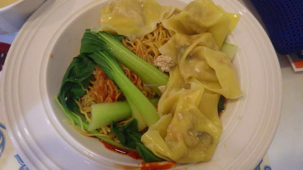 "Photo of CLOSED: Veggie Cottage  by <a href=""/members/profile/deadpledge"">deadpledge</a> <br/>Dry noodles and dumplings <br/> June 11, 2016  - <a href='/contact/abuse/image/38139/153401'>Report</a>"