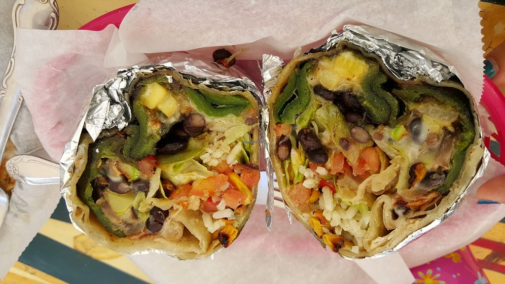 "Photo of Burrito Surf Burrito Shop  by <a href=""/members/profile/Dee_gigi"">Dee_gigi</a> <br/>Vegetarian burrito <br/> June 21, 2016  - <a href='/contact/abuse/image/38180/155217'>Report</a>"