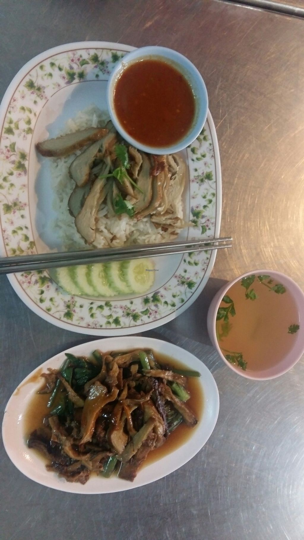 """Photo of Ming Ter  by <a href=""""/members/profile/AnshulGupta"""">AnshulGupta</a> <br/>delicious food made of vegetable protein <br/> May 30, 2017  - <a href='/contact/abuse/image/38199/264087'>Report</a>"""