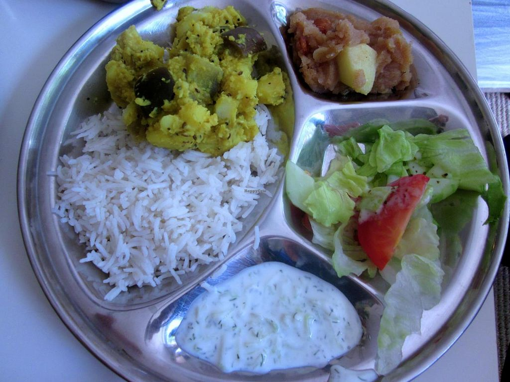 """Photo of CLOSED: Vegetarian Dinner Club  by <a href=""""/members/profile/annette"""">annette</a> <br/>Delicious Dinner Club meal 5 euros <br/> August 21, 2014  - <a href='/contact/abuse/image/38221/77835'>Report</a>"""