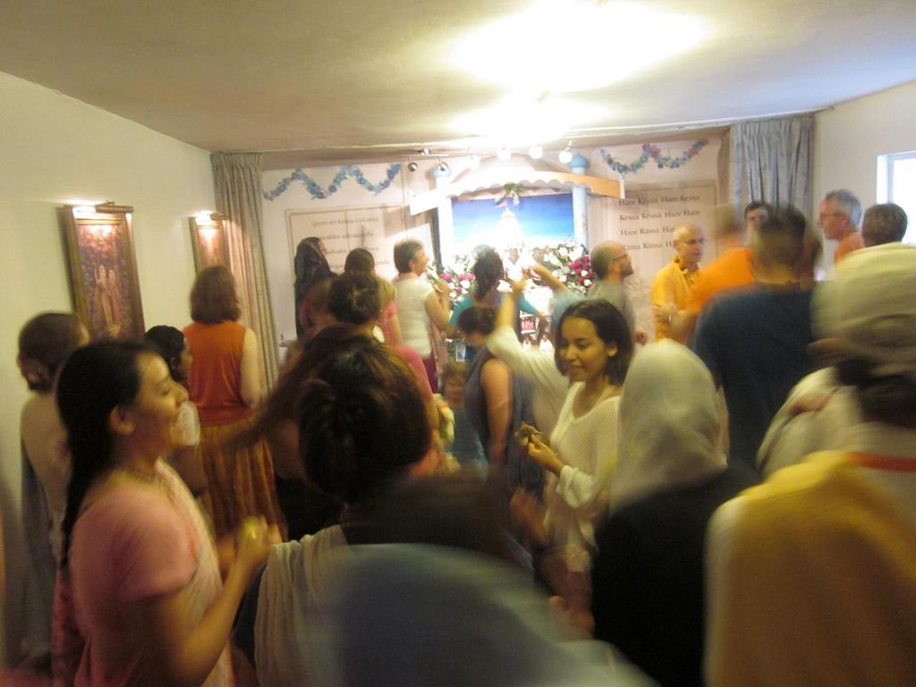 """Photo of CLOSED: Vegetarian Dinner Club  by <a href=""""/members/profile/annette"""">annette</a> <br/>Chanting and dancing before the free delicious Sunday 'love feast' ... felt like I was being transported back to the 70's <br/> August 22, 2014  - <a href='/contact/abuse/image/38221/77836'>Report</a>"""