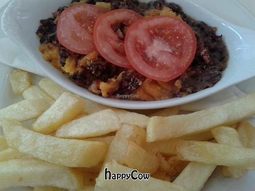 "Photo of Sinners Cafe  by <a href=""/members/profile/TrixieFirecracker"">TrixieFirecracker</a> <br/>Bean pie and chips <br/> May 1, 2013  - <a href='/contact/abuse/image/38242/47621'>Report</a>"