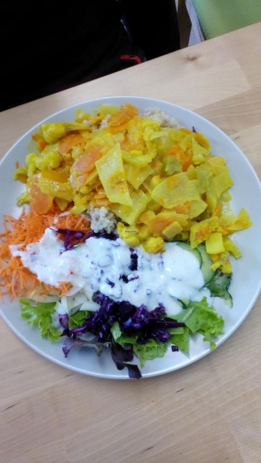 """Photo of CLOSED: Immergruen Bistro and Cafe  by <a href=""""/members/profile/Yilla"""">Yilla</a> <br/>Forgot the name veggies with rice ;) <br/> May 18, 2015  - <a href='/contact/abuse/image/38251/102644'>Report</a>"""