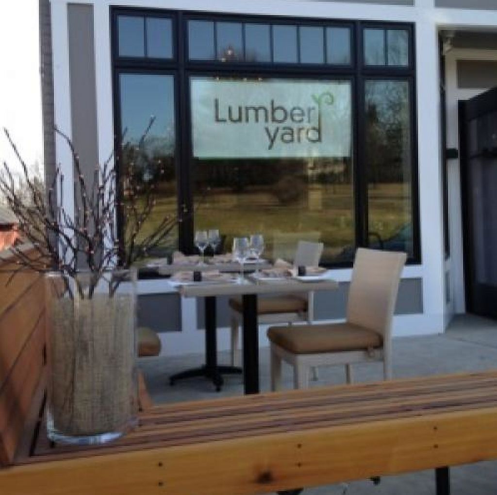 "Photo of CLOSED: Lumber Yard Restaurant  by <a href=""/members/profile/coyoteteacher"">coyoteteacher</a> <br/>Front view of the Lumber Yard <br/> April 27, 2013  - <a href='/contact/abuse/image/38256/202399'>Report</a>"