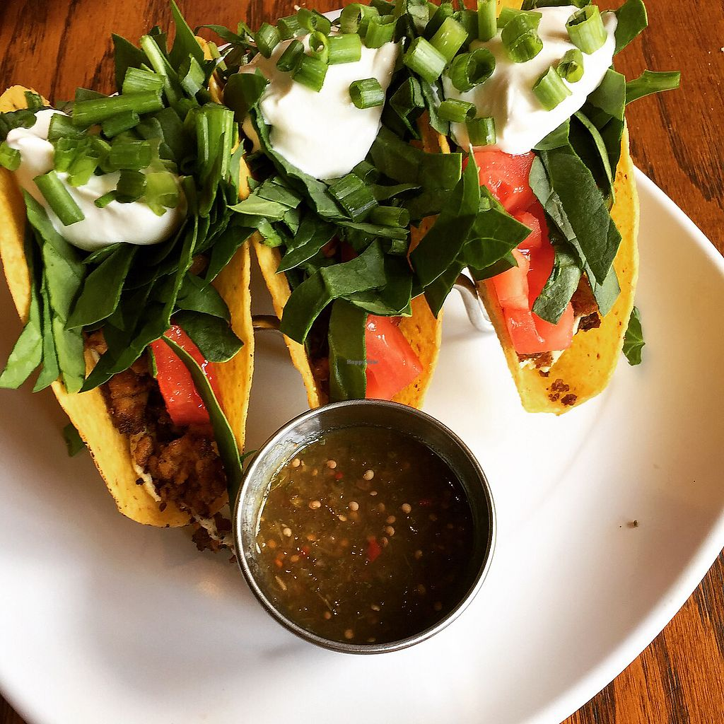 "Photo of The Angry Baker - Olde Towne East  by <a href=""/members/profile/KristenRenee"">KristenRenee</a> <br/>vegan tofu tacos <br/> August 13, 2017  - <a href='/contact/abuse/image/38318/292386'>Report</a>"