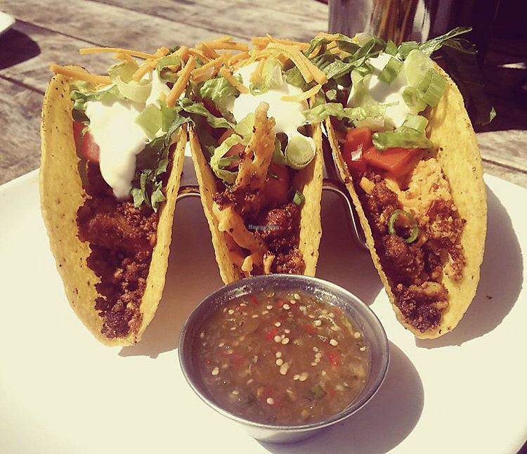 "Photo of The Angry Baker - Olde Towne East  by <a href=""/members/profile/Tabgreenvegan"">Tabgreenvegan</a> <br/>Vegan Tacos <br/> March 29, 2018  - <a href='/contact/abuse/image/38318/377758'>Report</a>"