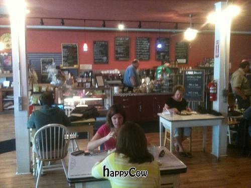 """Photo of Cafe at 407  by <a href=""""/members/profile/Veganbloke"""">Veganbloke</a> <br/>Interior <br/> May 23, 2013  - <a href='/contact/abuse/image/38322/48598'>Report</a>"""