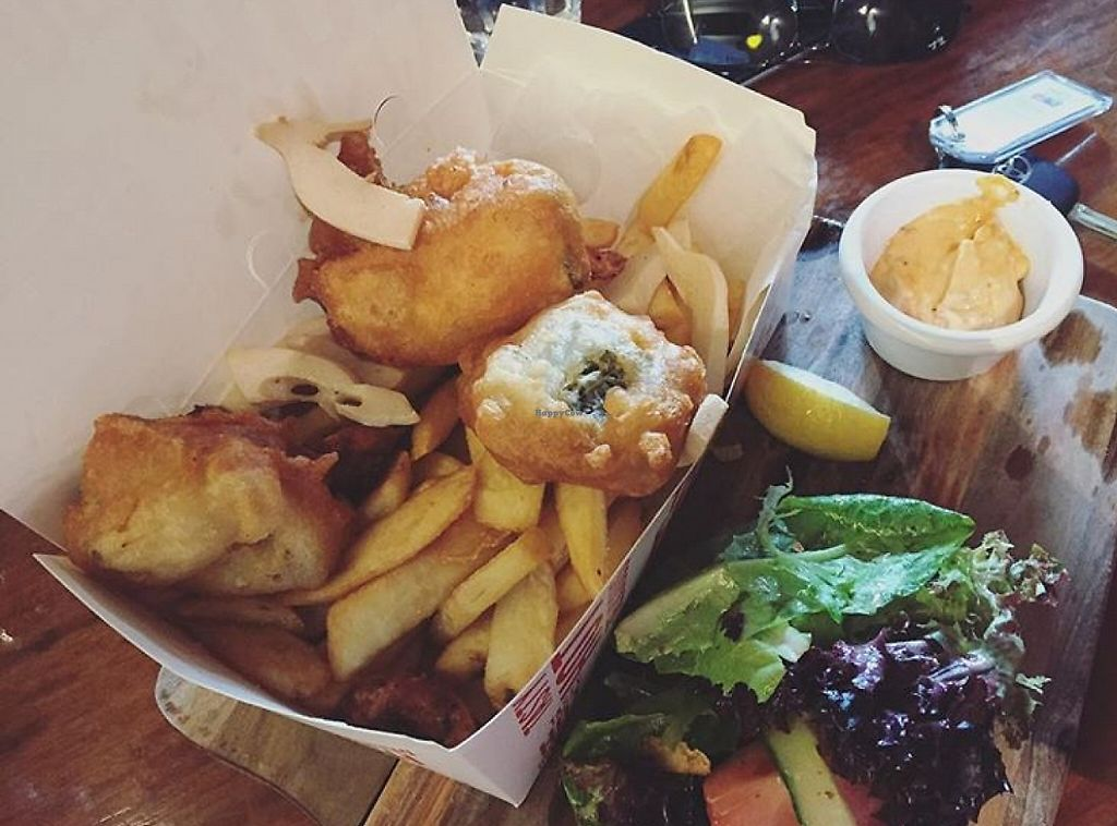 """Photo of Cornish Arms  by <a href=""""/members/profile/Samanthajjn"""">Samanthajjn</a> <br/>'Fishermans basket' <br/> May 25, 2016  - <a href='/contact/abuse/image/38323/256078'>Report</a>"""