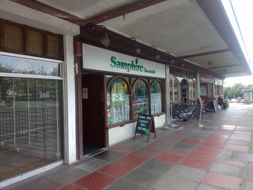 """Photo of Samphire Brasserie  by <a href=""""/members/profile/Ryecatcher"""">Ryecatcher</a> <br/>From outside <br/> July 1, 2015  - <a href='/contact/abuse/image/38330/107834'>Report</a>"""