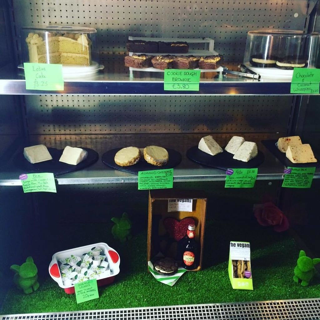 """Photo of Samphire Brasserie  by <a href=""""/members/profile/jazzandcrumpets"""">jazzandcrumpets</a> <br/>Deli counter with cheesecake, brownies, feta, brie, pepperjack and cheddar plus takeaway sandwiches!  <br/> August 4, 2016  - <a href='/contact/abuse/image/38330/165552'>Report</a>"""