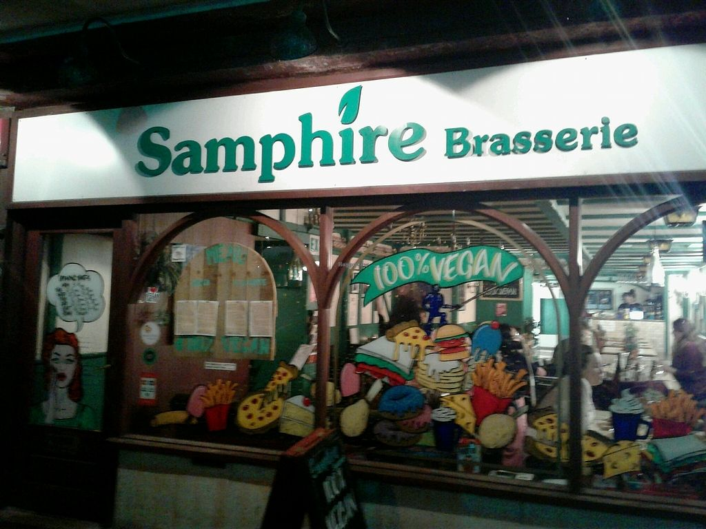 """Photo of Samphire Brasserie  by <a href=""""/members/profile/JuliaHubbard"""">JuliaHubbard</a> <br/>Samphire <br/> March 26, 2018  - <a href='/contact/abuse/image/38330/376582'>Report</a>"""