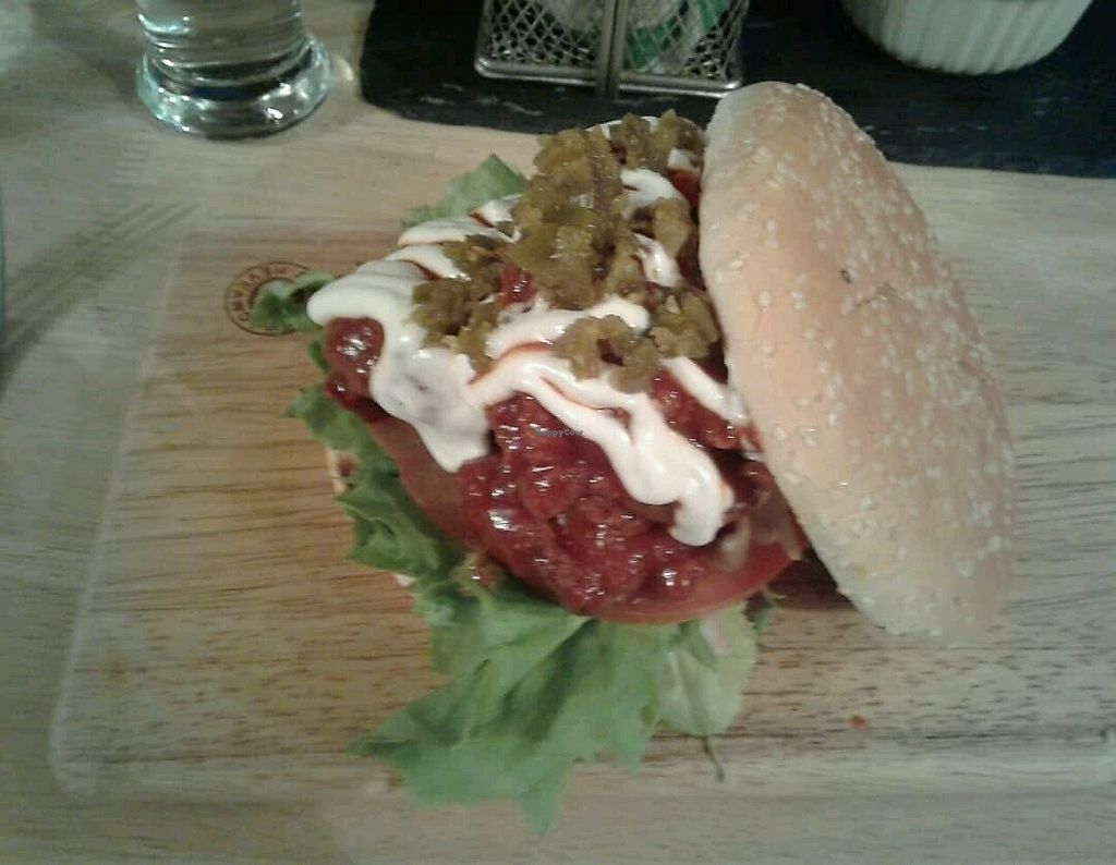 """Photo of Samphire Brasserie  by <a href=""""/members/profile/JuliaHubbard"""">JuliaHubbard</a> <br/>Bbq burger  <br/> March 26, 2018  - <a href='/contact/abuse/image/38330/376583'>Report</a>"""