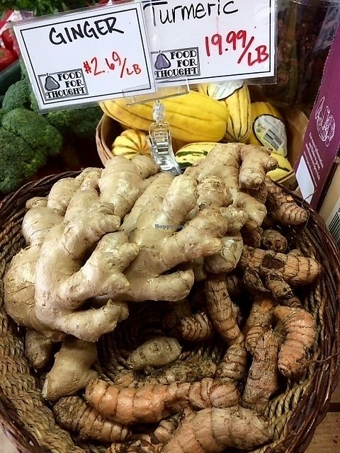 "Photo of Food For Thought Market  by <a href=""/members/profile/HealthyinMarathon"">HealthyinMarathon</a> <br/>ginger and turmeric <br/> July 22, 2017  - <a href='/contact/abuse/image/38388/283338'>Report</a>"