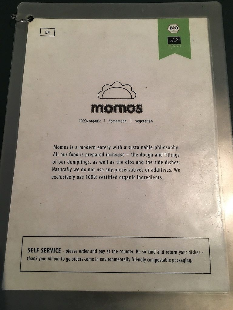 """Photo of Momos  by <a href=""""/members/profile/SP"""">SP</a> <br/>menu cover <br/> June 30, 2017  - <a href='/contact/abuse/image/38433/275026'>Report</a>"""