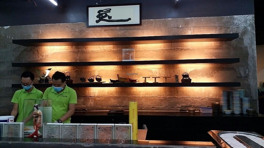 """Photo of Usagi Vegetarian Restaurant  by <a href=""""/members/profile/WenYou"""">WenYou</a> <br/>chefs making sushi <br/> July 1, 2017  - <a href='/contact/abuse/image/38438/275555'>Report</a>"""