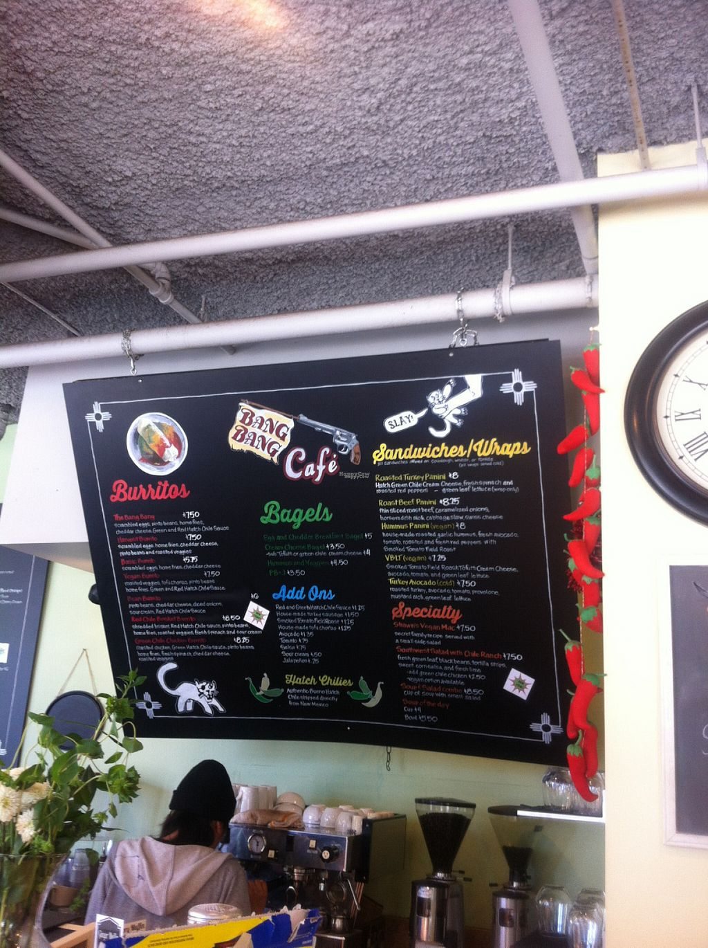 """Photo of Bang Bang Cafe  by <a href=""""/members/profile/piffelina"""">piffelina</a> <br/>Here is the menu! <br/> August 2, 2016  - <a href='/contact/abuse/image/38463/164463'>Report</a>"""