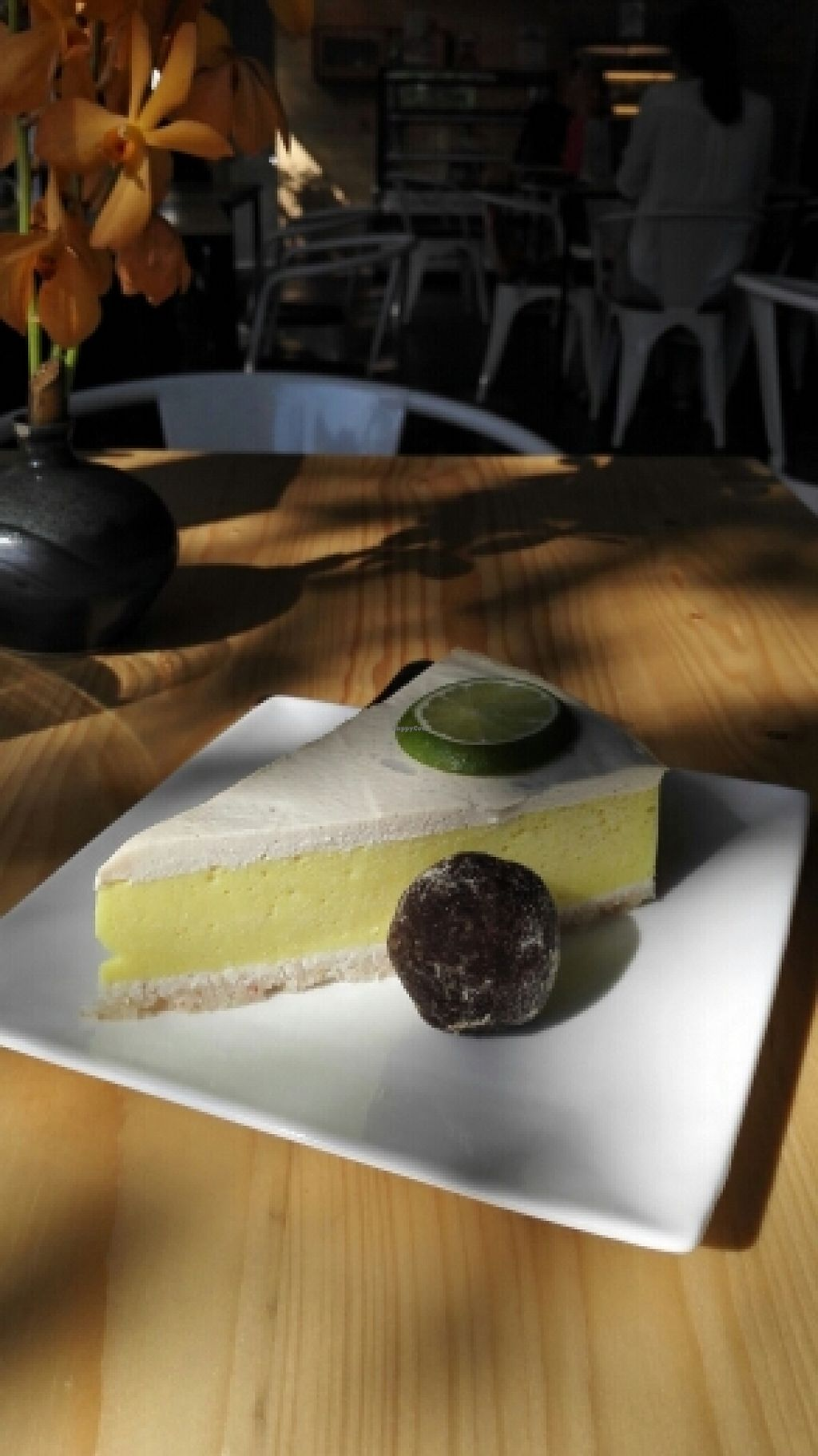 """Photo of Rasayana Raw Food Cafe  by <a href=""""/members/profile/HanniSchmidt"""">HanniSchmidt</a> <br/>lemon tart and a mocacao ball <br/> January 16, 2016  - <a href='/contact/abuse/image/3847/132567'>Report</a>"""