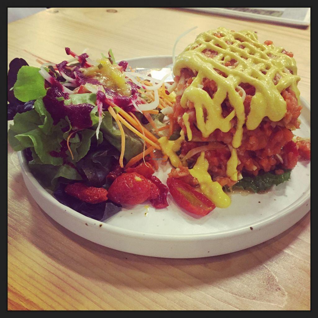 "Photo of Rasayana Raw Food Cafe  by <a href=""/members/profile/Nirankarkaur"">Nirankarkaur</a> <br/>Eggplant Lasagna <br/> February 21, 2016  - <a href='/contact/abuse/image/3847/137170'>Report</a>"