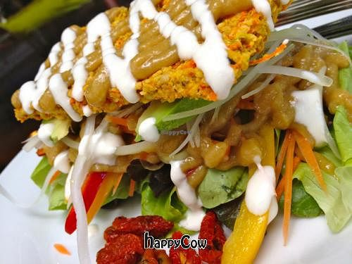 """Photo of Rasayana Raw Food Cafe  by <a href=""""/members/profile/Chnanis"""">Chnanis</a> <br/>Veggie Sandwich <br/> June 18, 2013  - <a href='/contact/abuse/image/3847/49769'>Report</a>"""