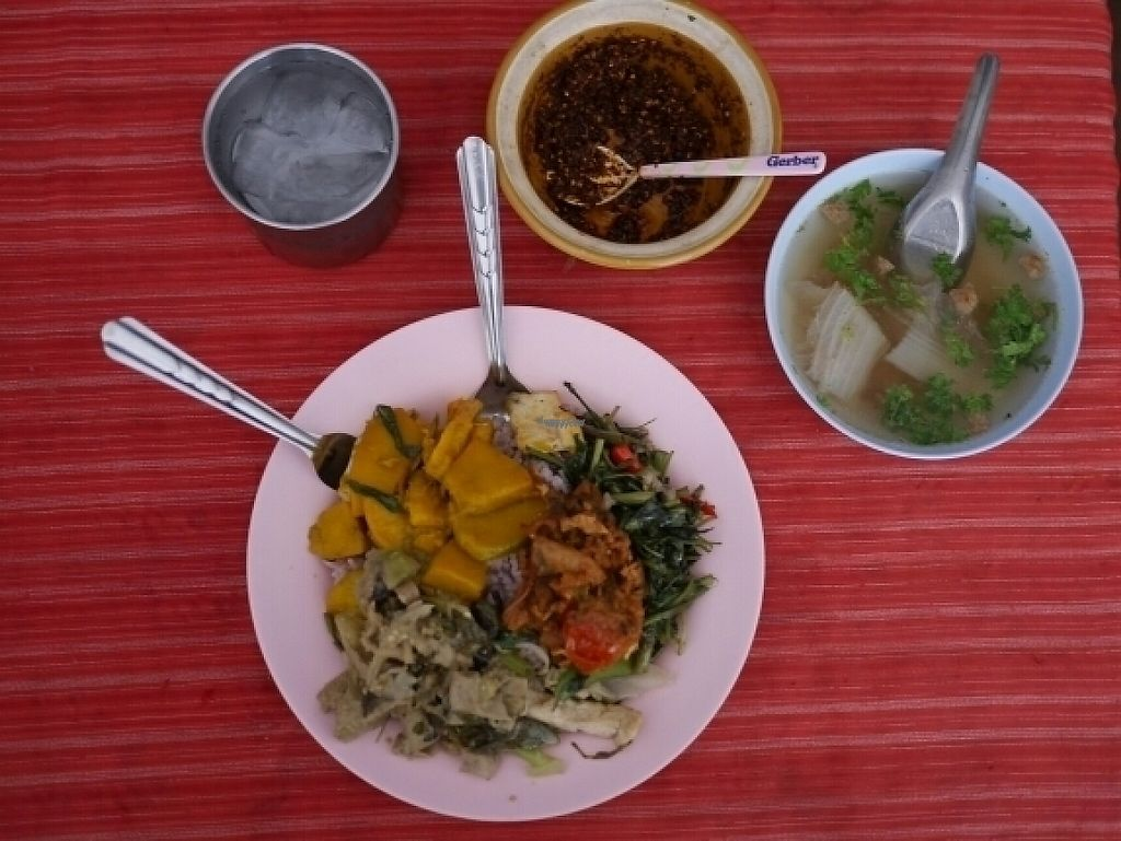 "Photo of Chuan Siang  by <a href=""/members/profile/Matthijs"">Matthijs</a> <br/>Delicious, diverse rice plate with lots of veggies AND soup AND salad (not pictured here) <br/> April 25, 2017  - <a href='/contact/abuse/image/38506/252249'>Report</a>"