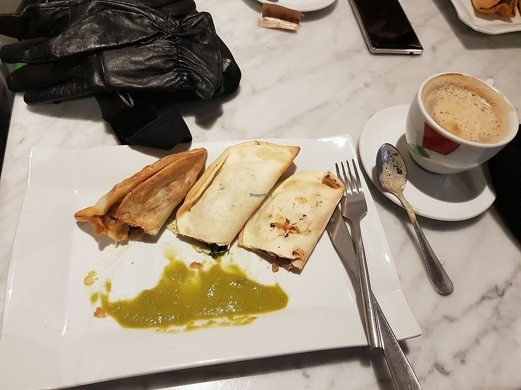 """Photo of Santoni Cafe  by <a href=""""/members/profile/rachie18"""">rachie18</a> <br/>Awesome pasties  <br/> February 10, 2018  - <a href='/contact/abuse/image/38547/357258'>Report</a>"""
