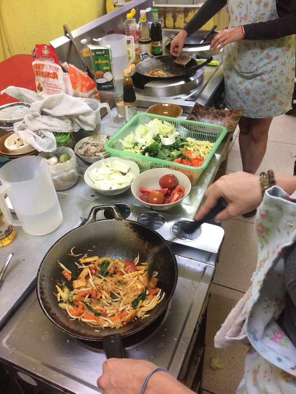 """Photo of Morning Glory  by <a href=""""/members/profile/LaurenceMontreuil"""">LaurenceMontreuil</a> <br/>vegan Thai cooking class <br/> February 9, 2018  - <a href='/contact/abuse/image/38567/356781'>Report</a>"""