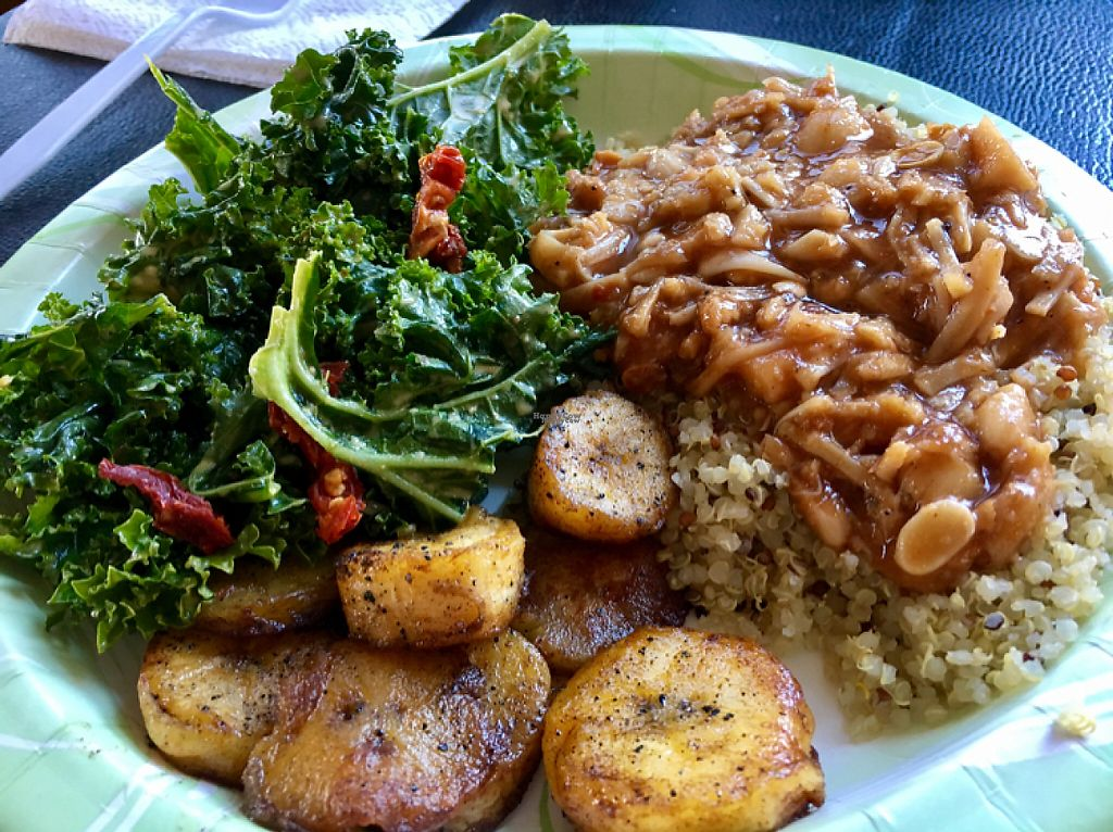 "Photo of Vegan Flava Cafe  by <a href=""/members/profile/clovely.vegan"">clovely.vegan</a> <br/>jackfruit special <br/> December 12, 2016  - <a href='/contact/abuse/image/38620/200306'>Report</a>"