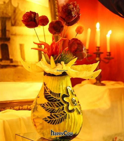"""Photo of Restaurante 1800  by <a href=""""/members/profile/Edward%20Houses"""">Edward Houses</a> <br/>Buffet decoration, pumpkin and potato <br/> May 20, 2013  - <a href='/contact/abuse/image/38625/48400'>Report</a>"""