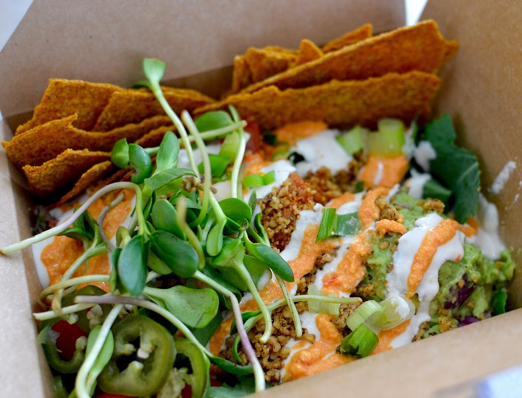 """Photo of Live Organic Food Bar - Liberty Village  by <a href=""""/members/profile/tlt"""">tlt</a> <br/>Deconstructed Taco Salad <br/> October 8, 2017  - <a href='/contact/abuse/image/38654/313149'>Report</a>"""