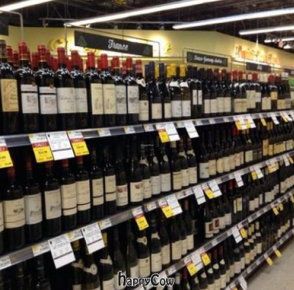 """Photo of Whole Foods Market  by <a href=""""/members/profile/Julie%20R"""">Julie R</a> <br/>I'm a non-drinker, but my friend (a big boozer) says the wine selection is very good and the beer selection is EXCELLENT <br/> May 17, 2013  - <a href='/contact/abuse/image/38673/197023'>Report</a>"""