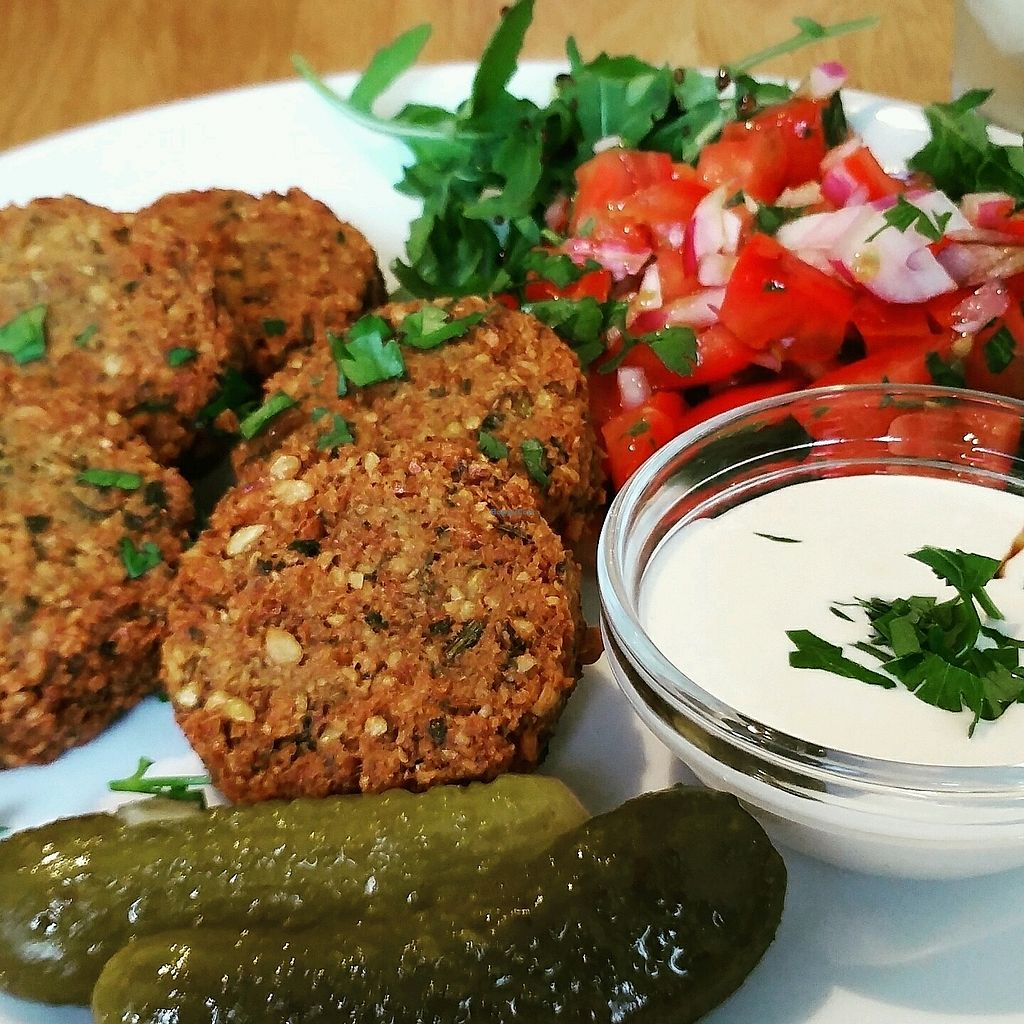 "Photo of Moment  by <a href=""/members/profile/PetrClipsAnton"">PetrClipsAnton</a> <br/>Vegan falafel :) <br/> February 17, 2018  - <a href='/contact/abuse/image/38687/360510'>Report</a>"