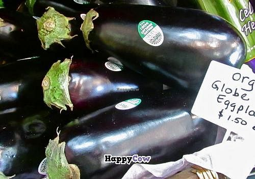"Photo of Herban Marketplace  by <a href=""/members/profile/Betsy%20Hinderliter"">Betsy Hinderliter</a> <br/>Lovely Organic Eggplant at Herban! <br/> September 27, 2013  - <a href='/contact/abuse/image/38697/55823'>Report</a>"
