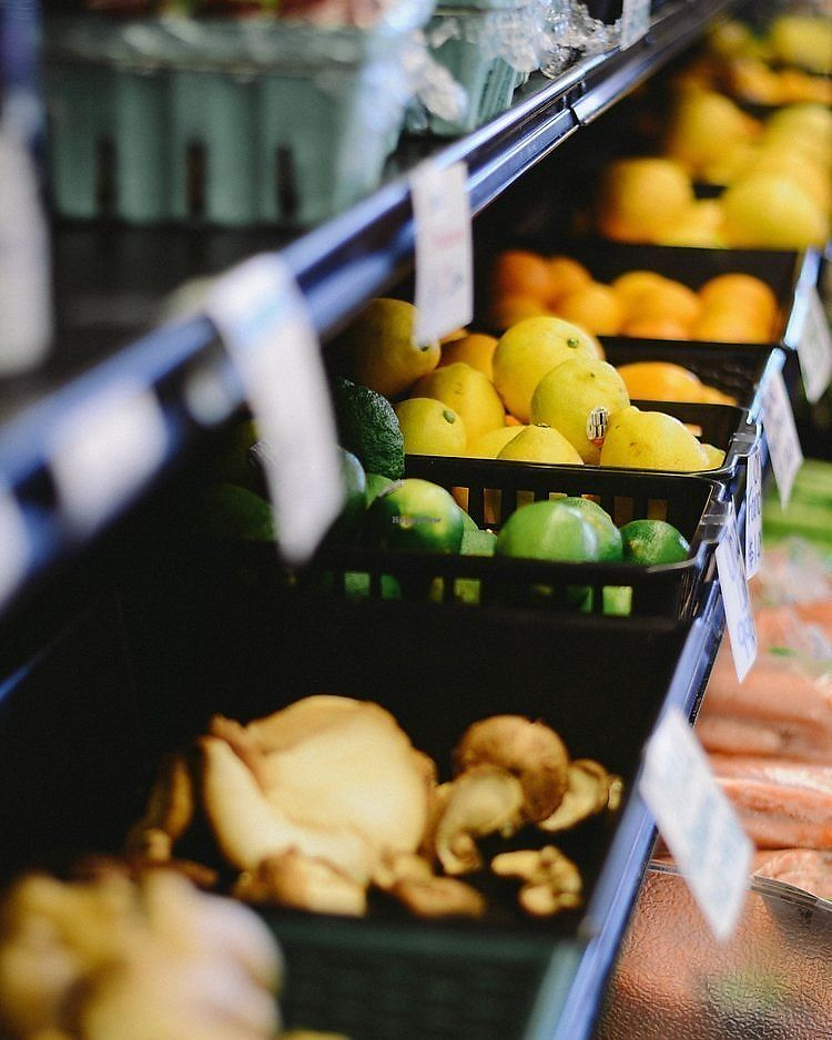 """Photo of New Bridge Organic Market  by <a href=""""/members/profile/jaimee344"""">jaimee344</a> <br/>Fresh produce available in the store <br/> November 24, 2017  - <a href='/contact/abuse/image/38734/328739'>Report</a>"""