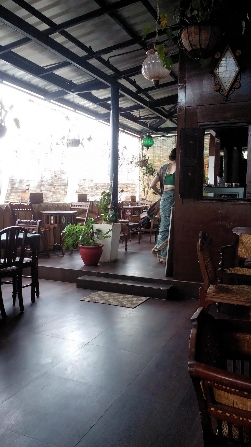 """Photo of Paradigm Shift Vegan Cafe  by <a href=""""/members/profile/Yilla"""">Yilla</a> <br/>roof terrace <br/> March 31, 2015  - <a href='/contact/abuse/image/38782/97427'>Report</a>"""