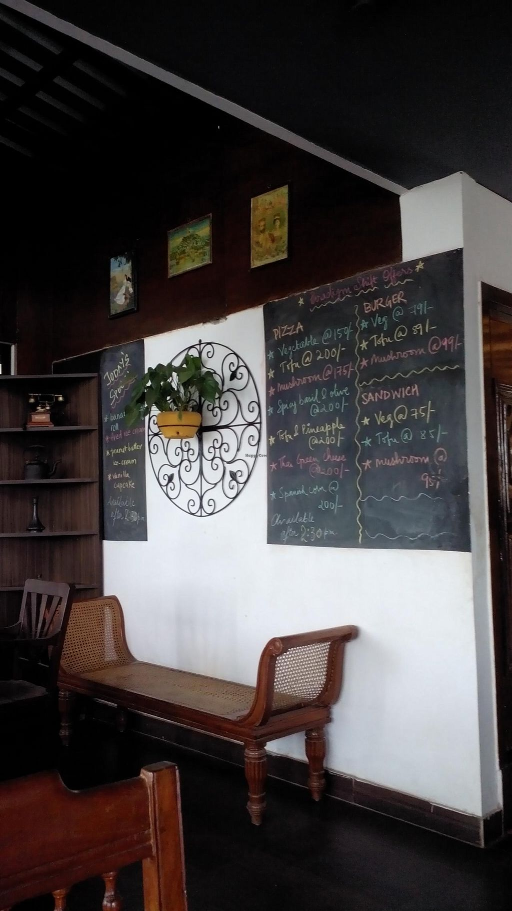 """Photo of Paradigm Shift Vegan Cafe  by <a href=""""/members/profile/Yilla"""">Yilla</a> <br/>specials <br/> March 31, 2015  - <a href='/contact/abuse/image/38782/97428'>Report</a>"""