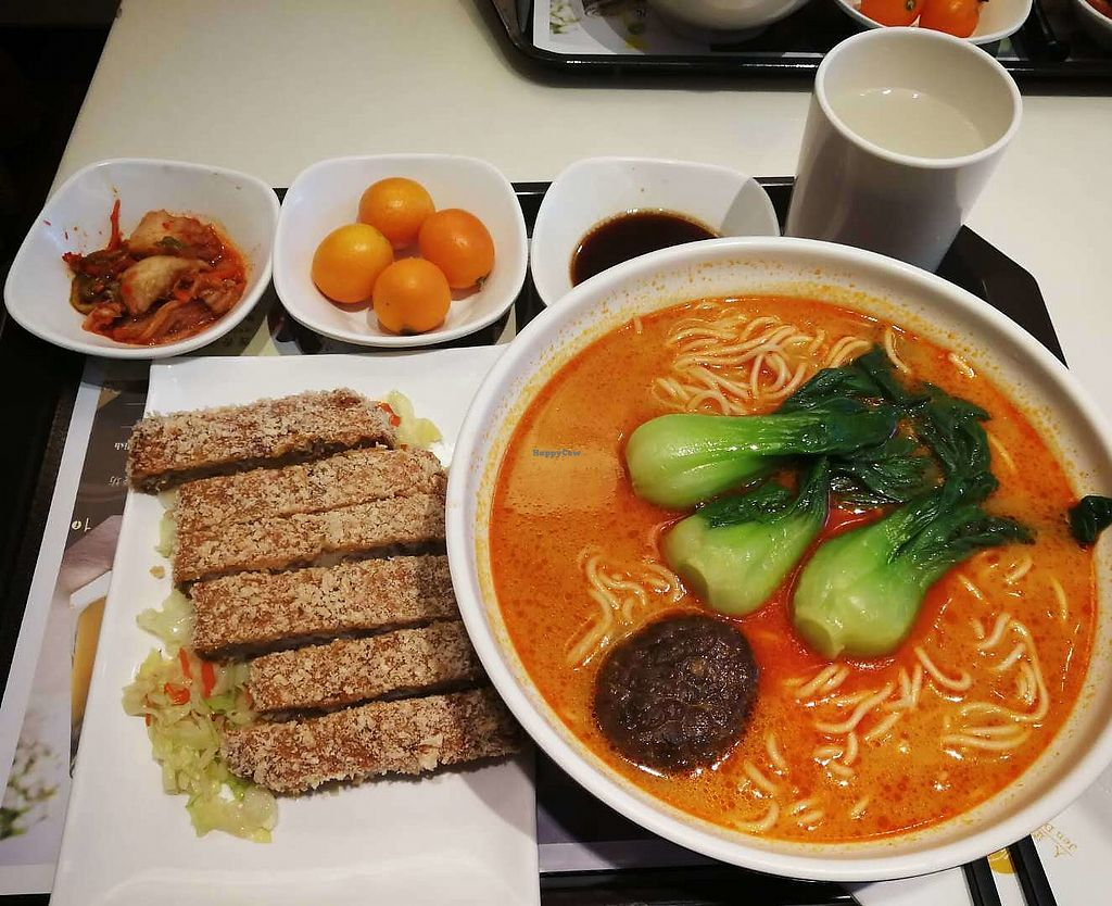 """Photo of Jen Dow - Lian Shiang Jai  by <a href=""""/members/profile/AgaDomagalska"""">AgaDomagalska</a> <br/>Vegetarian Chicken Curry Noodle Soup <br/> January 15, 2018  - <a href='/contact/abuse/image/38824/346770'>Report</a>"""
