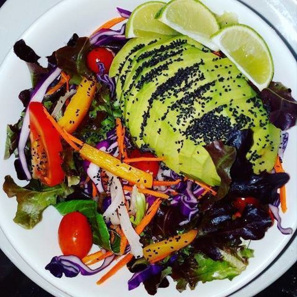 "Photo of CLOSED: Bamboo Bar & Vegetarian Restaurant  by <a href=""/members/profile/AnnaAnna"">AnnaAnna</a> <br/>Avocado salad with cherry tomatoes, yellow pepper, red cabbage and mix veggies, filled with chia seeds <br/> March 15, 2017  - <a href='/contact/abuse/image/38858/236733'>Report</a>"
