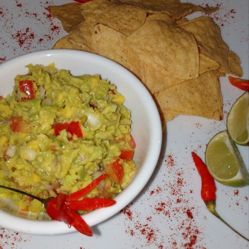 "Photo of CLOSED: Bamboo Bar & Vegetarian Restaurant  by <a href=""/members/profile/AnnaAnna"">AnnaAnna</a> <br/>Avocado guacamole with corn nachos <br/> June 15, 2017  - <a href='/contact/abuse/image/38858/269402'>Report</a>"
