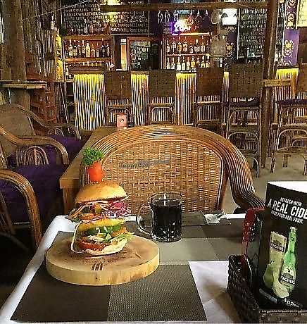 "Photo of CLOSED: Bamboo Bar & Vegetarian Restaurant  by <a href=""/members/profile/AnnaAnna"">AnnaAnna</a> <br/>Veggie burger with lentils in Bamboo Bar & Vegetarian Restaurant <br/> October 31, 2017  - <a href='/contact/abuse/image/38858/320341'>Report</a>"