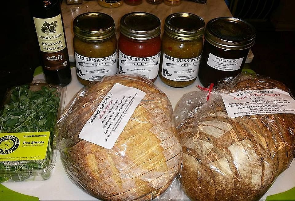 "Photo of Galveston's Own Farmers Market  by <a href=""/members/profile/wennysan"">wennysan</a> <br/>Bob's Salsa with a Kick - Salsa Verde is my favorite!