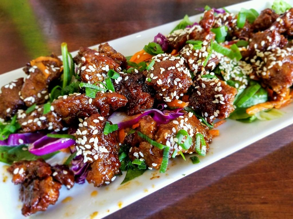 """Photo of Wild Leek  by <a href=""""/members/profile/Elliek"""">Elliek</a> <br/>Sesame Ginger Seitan Bites <br/> October 1, 2017  - <a href='/contact/abuse/image/38899/310682'>Report</a>"""
