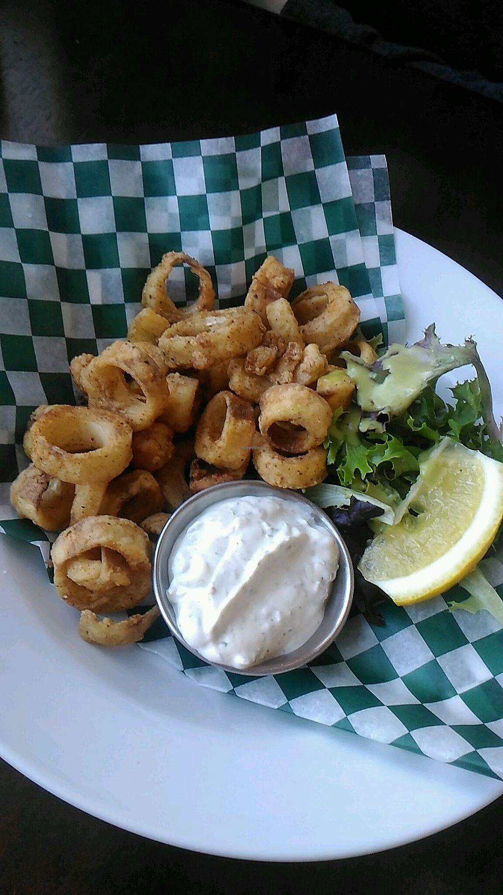 """Photo of Wild Leek  by <a href=""""/members/profile/QuothTheRaven"""">QuothTheRaven</a> <br/>vegan calamari  <br/> April 12, 2018  - <a href='/contact/abuse/image/38899/384220'>Report</a>"""